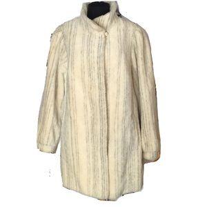 Lamar Couture Vantage 75% Alpaka Coat sz 44